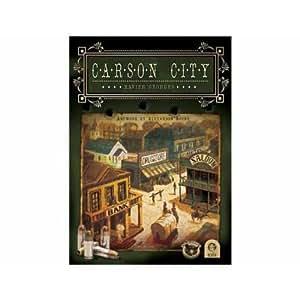 300197 Carson City - Juego de mesa de estrategia (edición alemana) [Importado de Alemania]