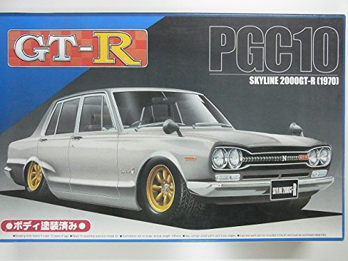 青島文化教材社 1/24 限定メモリアルコレクション No.1 ハコスカ 4ドア 2000 GT-Rの商品画像