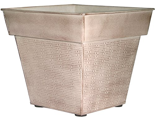 Robert Allen MPT01834 Windsor Glazed IronStone Planter, 16