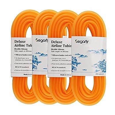 Segarty Silicone Flexible Airline Tubing | Standard Fit for Aquariums Air Pump