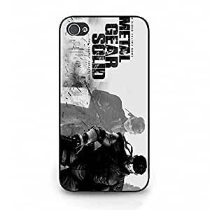 Cover Shell Cool Naked Snake Tactical Espionage Game Metal Gear Solid Phone Case Cover for Iphone 4 4s Metal Gear Classical