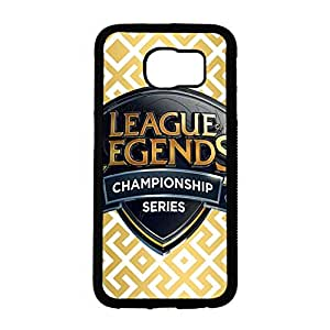 Fashion Classic Cover Case,Fashion Luxury League of Legends Logo Phone Case for Samsung Galaxy S6 (LOL)