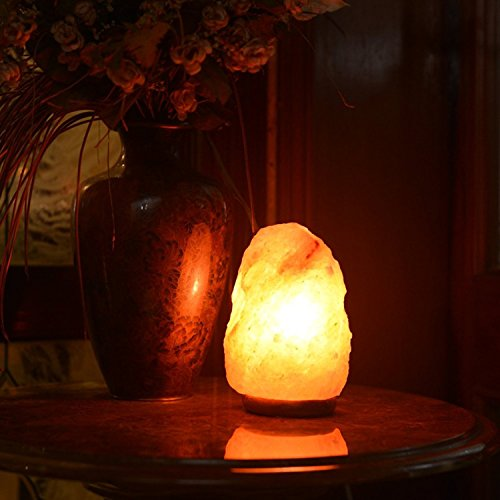 Himalayan Glow 1001 Salt Lamp, ETL Certified himalayan pink salt lamp, Home Décor Table lamps | 5-8 lbs by WBM by Himalayan Glow (Image #2)