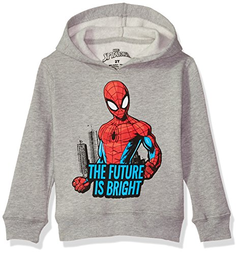 Marvel Boys' Toddler Spider-Man Pullover Fleece, Future, 4T -