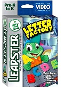 leapfrog letter factory phonics leapfrog leapster educational the 22720