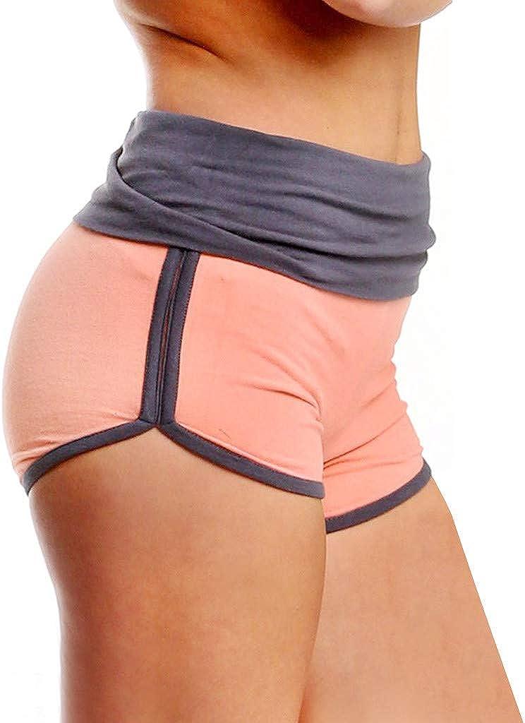 Shorts Womens Workout Glorxha Womens Dolphin Running Workout Yoga Sport Fitness Pant