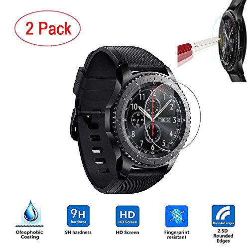 Price comparison product image ABCsell 2PC HD Film Intelligent LCD Screen Protective For Samsung Gear S3 Frontier
