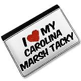RFID Passport Holder I Love my Carolina Marsh Tacky, Horse, Cover Case / Wallet