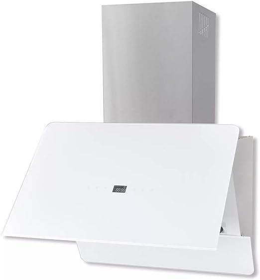 Tidyard Campana extractora Cristal Templado Blanco 600 mm: Amazon.es: Hogar