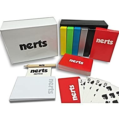 Legacy Toys Nerts Card Game Box Set,  6 Decks of Standard Playing Cards