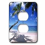 3dRose lsp_89647_6 Kaaawa Beach, Oahu, Hawaii, Usa Us12 Dpb0801 Douglas Peebles Light Switch Cover