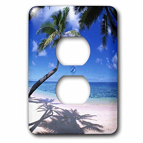 3dRose lsp_89647_6 Kaaawa Beach, Oahu, Hawaii, Usa Us12 Dpb0801 Douglas Peebles Light Switch Cover by 3dRose