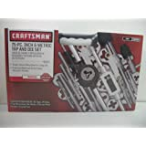 Craftsman 75 pc Inch & Metric tap and die Set
