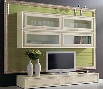 Entzuckend COM U2013 Wand Für Wohnzimmer, Täfelung Vintage Grün, Strukturen Und Front  Vintage