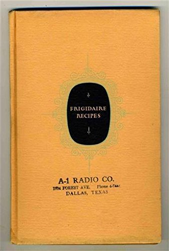 Fridge Dj Radio (Frigidaire Recipes HC / DJ 1928 A-1 Radio Automatic Refrigerator Freezers)