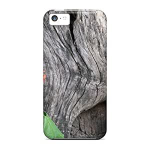 LuckyBecky JwdLujF-3566 Case For Iphone 5c With Nice Tree Texture Appearance