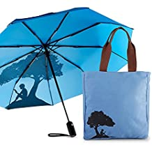 Kindle Gear Gift Bundle including Tote Bag, and Compact Umbrella