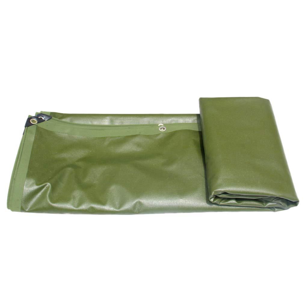 Home warehouse Regenschutztuch, grünes Auto im Freien Poncho-Plane Wasserdichte Sonnencreme verdicken Regenschutztuch Verschleißfester Canvas Truck Shade Cloth
