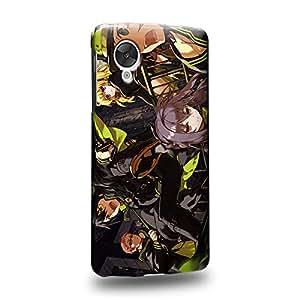 Case88 Premium Designs Seraph of the End Yuichiro Hyakuya Guren Ichinose Shinoa Hiragi Mikaela Hyakuya 1289 Carcasa/Funda dura para el LG Nexus 5