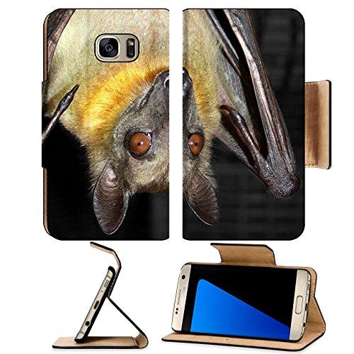 Liili Premium Samsung Galaxy S7 EDGE Flip Pu Leather Wallet Case friendly fruit bat hanging upside down Photo 20340313 Simple Snap - Gift Cards Discount Australia