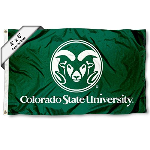 CSU Rams 4'x6' Flag by College Flags and Banners Co.