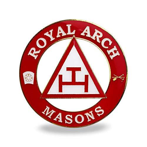 Masonic Royal Arch Auto Decal Freemason Car Emblem