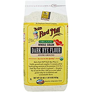 Organic Dark Rye Flour by Bob's Red Mill, 22 oz