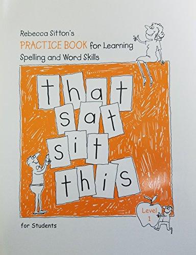 Rebecca Sitton's Sourcebook, Level 1: Practice Books