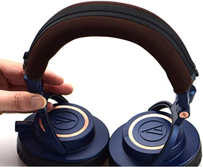 1Pair velour ear pads cushion for audio technica ath-m50 m50S m50X m40 m40S/_sy