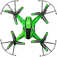 Owill YD- A8 4CH 6-Axis Gyro 0.3MP Camera RC Quadcopter 360 Flips Aircraft Drone/Kids Great Toy (Green)