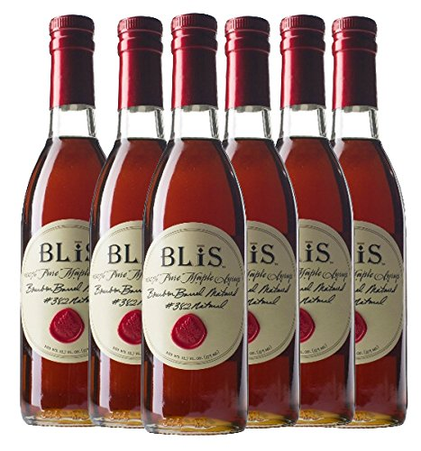 BLiS Bourbon Barrel Maple Syrup - 6 Pack- 375ml (6) by BLIS (Image #1)
