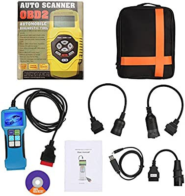 ICARSCANNER Truck Diagnostic Tool T71 For Heavy Truck and Bus Code Reader  Diesel Diagnostic Scan Tool Support J1939 J1587 1708 Protocol