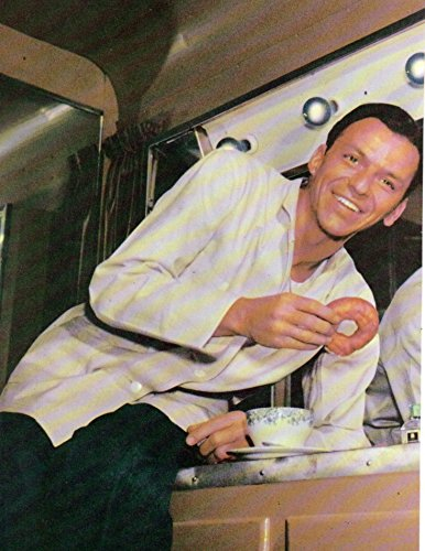 Frank Sinatra original clipping magazine photo 1pg 8x10 #Q4251