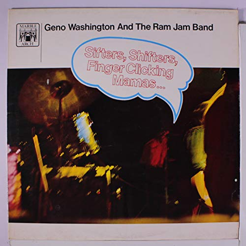 sifters, shifters... LP (Geno Washington And The Ram Jam Band)
