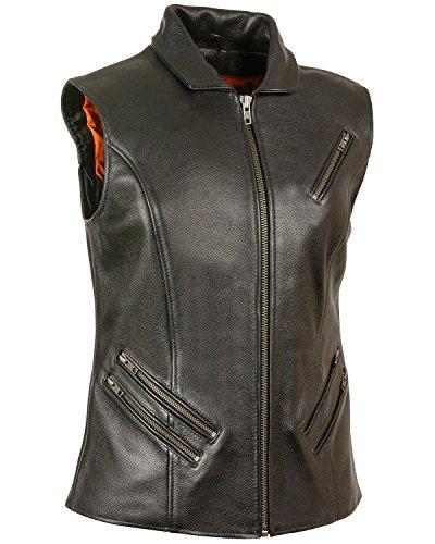 オリエンテーション怠感ビヨンMilwaukee Leather SHIRT レディース