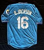 Bo Jackson Autographed Mitchell & Ness Kansas City Royals Jersey