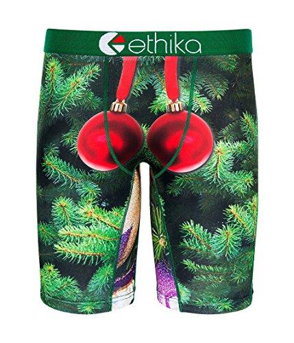 Man Nutcracker - Ethika Men's Nutcracker Green/Red Large