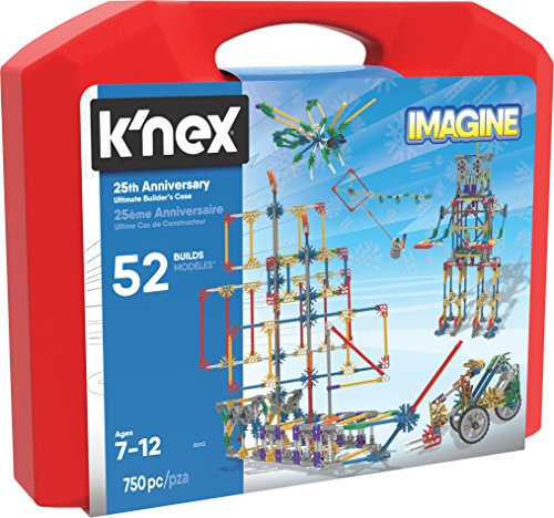 KNEX Imagine 25th Anniversary Ultimatebuilders Case Building Kit
