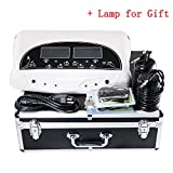 iMeshbean® Professional Dual LCD Ion Detox Ionic Foot Bath Spa Cleanse Machine with Far Infrared Therapeutic Belt, Personal Total Body Health Care with 2 Arrays