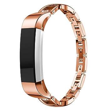 design intemporel achat le plus récent guetter Amazon.com: Fitbit Holder Fitbit alta hr Bands Leather ...