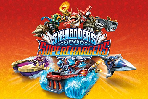 (Skylanders Superchargers - TV Show Poster / Print (Characters) (Size: 36
