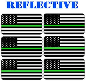 Black Ops American Flag Hard Hat Decals \ Helmet Stickers USA Tactical Gear 5