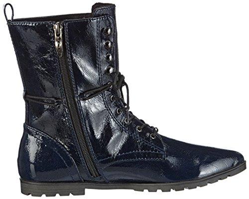 Tamaris 25957 - botas chelsea de material sintético mujer azul - Blau (NAVY 805)