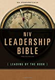 Image of NIV, Leadership Bible, Hardcover: Leading by The Book