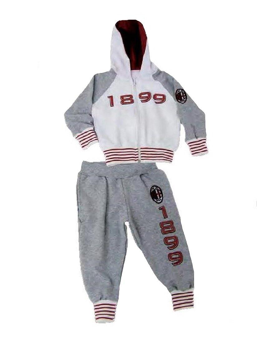 Tuta Ricamata Bambino Bimbo Abbigliamento Ufficiale AC Milan ...