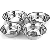 Stainless Steel Mixing Bowl (Set of 4) - Utopia Kitchen