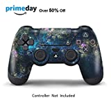 Skins for PS4 Controller - Decals for Playstation 4 Games - Stickers Cover for PS4 Slim Sony Play Station Four Controllers PS4 Pro Accessories PS4 Remote Wireless Dualshock 4 Skin - Universe