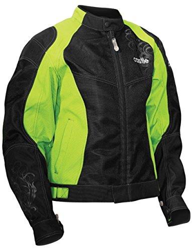 - Castle Desire Women's Motorcycle Jacket Hi-Vis LRG
