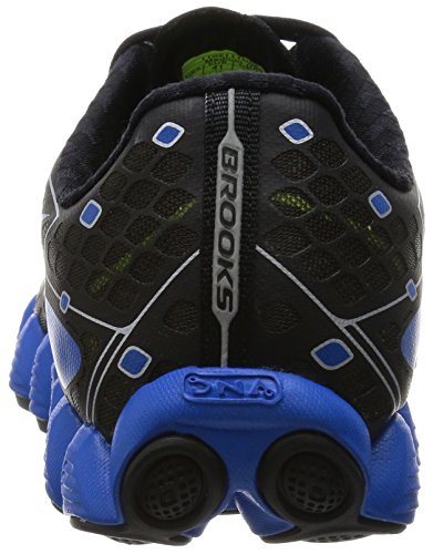 Brooks Mens Neuro Metallic Charcoal / Electric Blue Limonade / Nachtleven