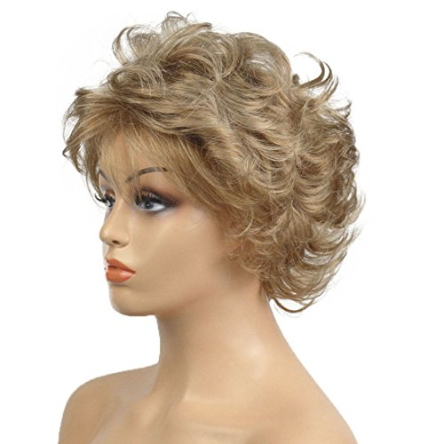 Lydell Short Ombre Choppy Layers Synthetic Hair Wigs for women #234A